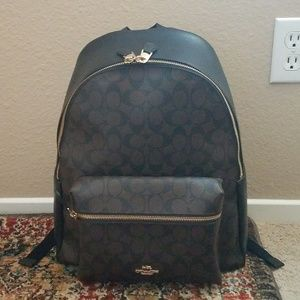 Authentic Coach Charlie Signature Backpack